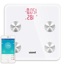 LEVUSU 13*13 inches Smart Body Analyzer Digital Body Fat Wei