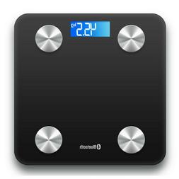 180KG Digital Bathroom Scale Weight Fat Scales Body Fitness