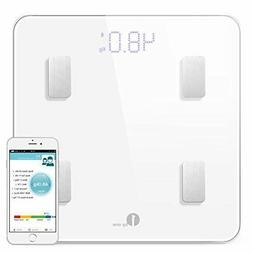 1byone Bluetooth Smart Body Fat Scale with IOS and Android A