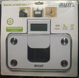 Taylor 7086 WHITE Electronic Scale Compact Travel Digital Pe