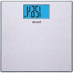 TAYLOR 74134102 Digital Scale with Stainless Steel Textured