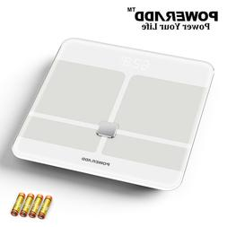 Smart Digital Bathroom Scale Body Fat Weight Scale for iOS A
