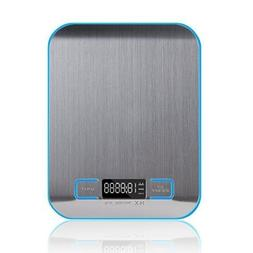 Smart Weigh 11 pounds or 5 kilograms Digital Multifunction F