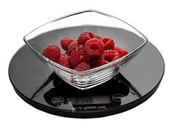 Weigh To Go! Digital Food Scale - Black Digital Kitchen Scal