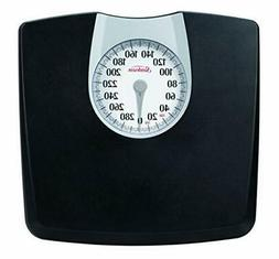 Weight Scale Body Health Fitness Fat Black Mechanical 330 Lb