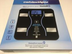 Bluetooth Body Analysis Scale Black Weight Watchers BMI Musc