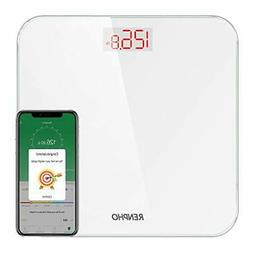 RENPHO Bluetooth Bathroom Scale Digital Weight with BMI, Sma
