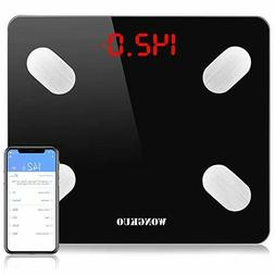 Bluetooth Body Fat Monitors Scale With Free IOS And Android