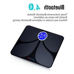 Bluetooth Body Fat Scale APP&Body Analyzer Fitness Health Mo