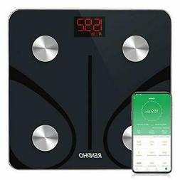 Bluetooth Body Fat Scale Digital Wireless BMI Scale Bathroom