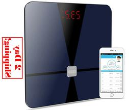 Bluetooth Body Fat Scale, Dr.meter Digital Bathroom Weight S