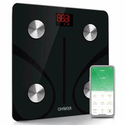 RENPHO Bluetooth Body Fat Scale - FDA Approved - Smart BMI S
