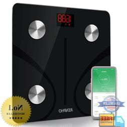 RENPHO Bluetooth Body Fat Scale - Smart Bmi Scale Digital Ba
