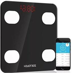 bluetooth body fat scale smart digital bathroom