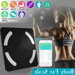 Bluetooth Body Fat Weight Scale Smart BMI Digital Bathroom L