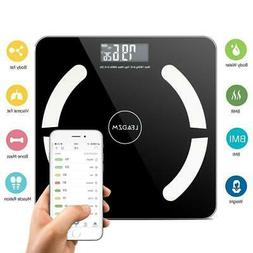 Bluetooth Digital Bathroom Scale LCD Body Fat Weight Muscel