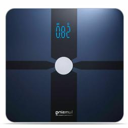 Smart Electronic Body Scale Body Fat BMI for iOS Android Blu
