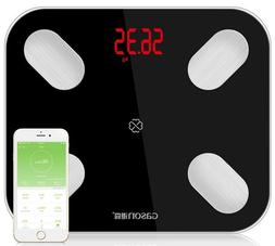 Bluetooth Digital Bathroom Smart Scale Body Weight Fat BMI w