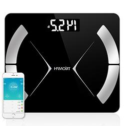 Triomph Bluetooth Smart Body Fat Scale with iOS/Android App