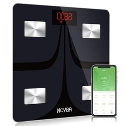 Bluetooth Smart Scales Digital Weight and Body Fat Scale FDA