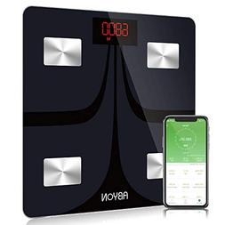 Bluetooth Smart Scales Digital Weight and Body Fat Scale - B