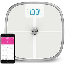 Koogeek Bluetooth WiFi Body Fat Scale with IOS and Android A