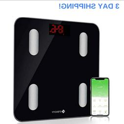 bmi scale digital weight body fat smart