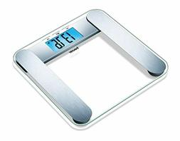 Beurer Body Analysis Scale Extra Large Display With Blue Bac