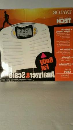 Taylor Body Fat Analyzer and Scale / Brand NEW in Box