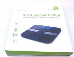 1byone Body Fat Scale Body Scale Bathroom Scale with Tempere