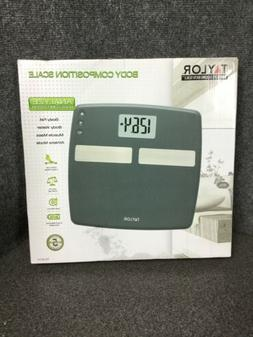 Taylor 400 Lb. Capacity Digital Body Composition Analyzer Ba