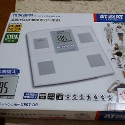 TANITA body composition monitor BC705NWH White from Japan <F