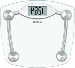 Taylor Precision Products Digital Bathroom Scale, Highly Acc