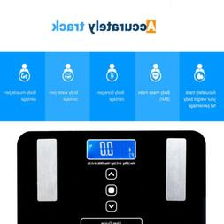 Digital Body Fat BMI Scale Water Muscle Calorie Bone Bathroo