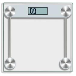Digital Body Weight Scale 330 lb Electronic LCD Bathroom Fit