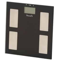 Digital Glass Body Fat Water and Muscle Mass Scale Professio