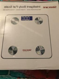 Digital Smart Body Fat Scale BMI Analyzer Weight Health Fitn