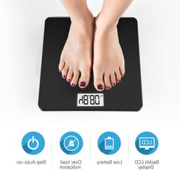 Digital Smart Body Fat Weight Scale LCD Health Tracker BMI M