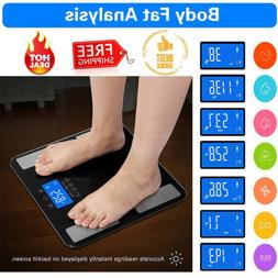 digital touch body fat scale bmi water