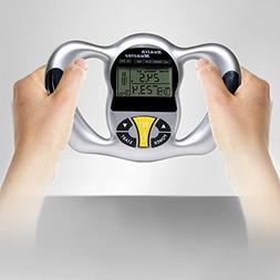 Thinkmax Body Fat Monitors Handheld LCD Display BMI Detector