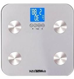 GoWISE USA Digital Body Fat Scale Tempered Glass  GW22029