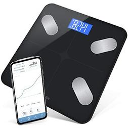 GreaterGoods Bluetooth Digital Body Fat Weight Scale, Smart