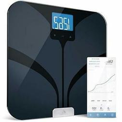 Weight Gurus Bluetooth Smart Connected Body Fat Scale with L