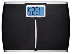 Health-o-Meter Glass Body Fat Scale Clear w/ Black Frame