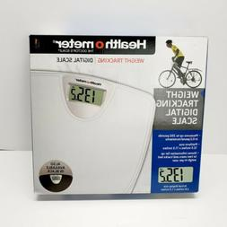Health o Meter Weight Tracking Digital Scale HDM770-01, Whit