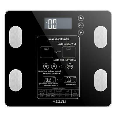 Body Composition Fat Monitor Scale Smart Weight