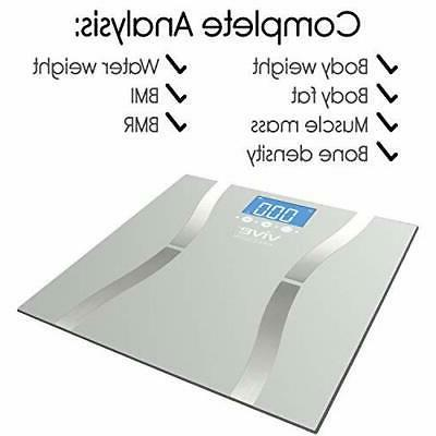 400lb Smart Scale Fitness Muscle BMI