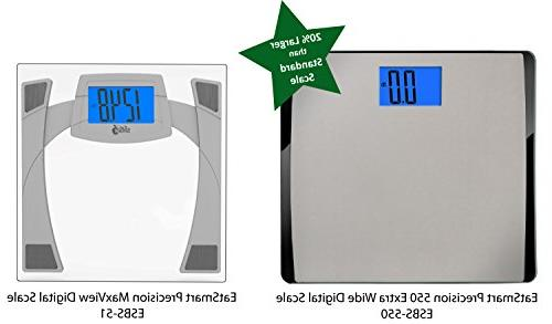 EatSmart Pound Extra-High Digital Scale with