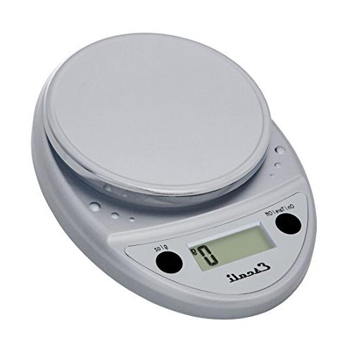 Escali Primo Digital Kitchen Scale Premium Food Scale for Baking, Cooking  and Mail - Lightweight and Durable Design - Lifetime ltd. Warranty - Chrome