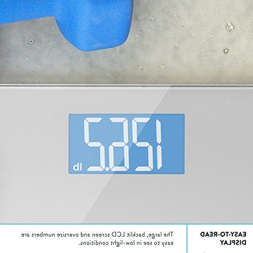 Digital Weight GreaterGoods, Large Glass Top, Precision